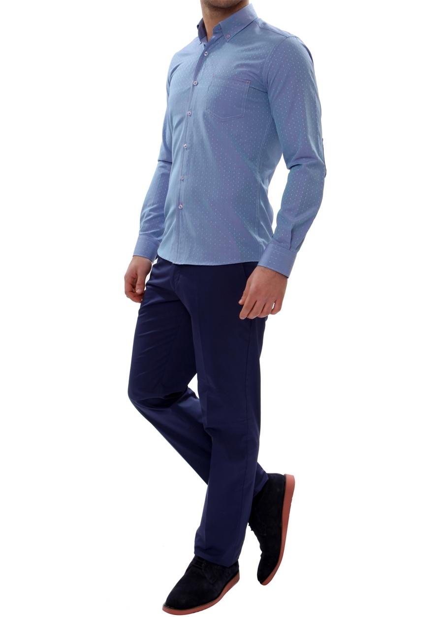 P 905 Slim Fit Lacivert Spor Pantolon