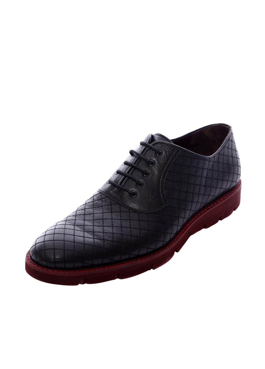 3675-1 Siyah Spor Ayakkabı
