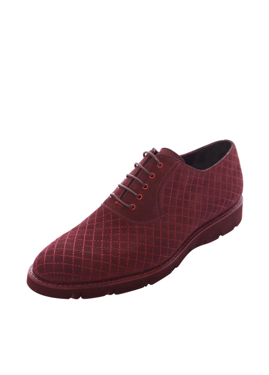 3675-1 Bordo Spor Ayakkabı
