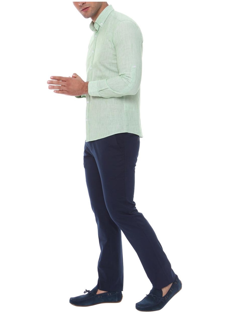 P 969 Slim Fit Lacivert Spor Pantolon