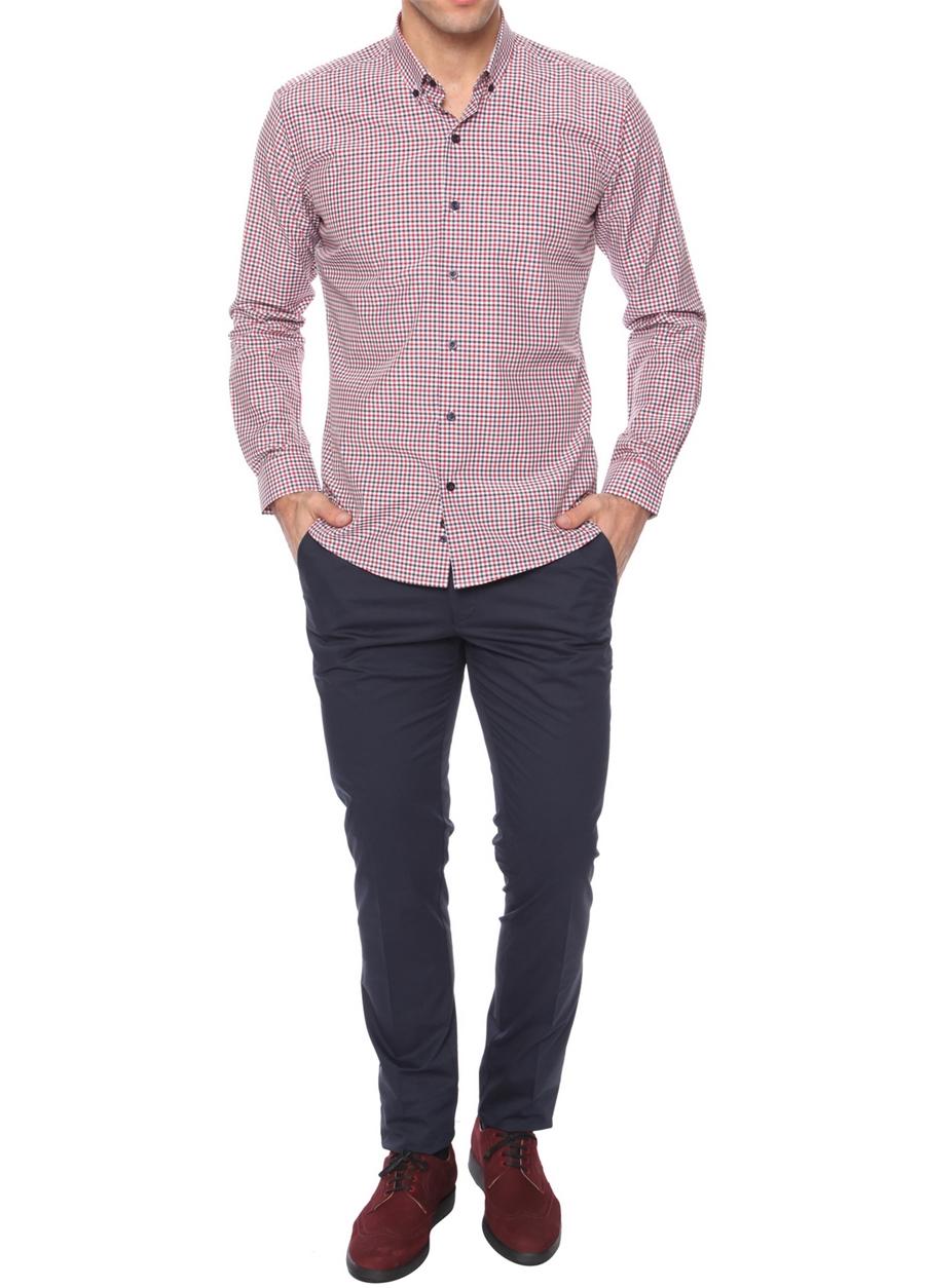 P 969 Slim Fit Koyu Lacivert Spor Pantolon