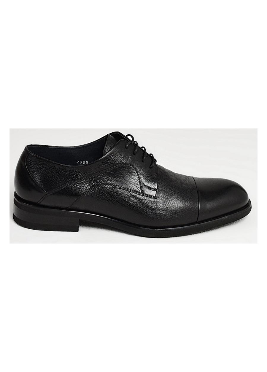 2669-1 EFOR AYK Siyah Klasik Ayakkabı