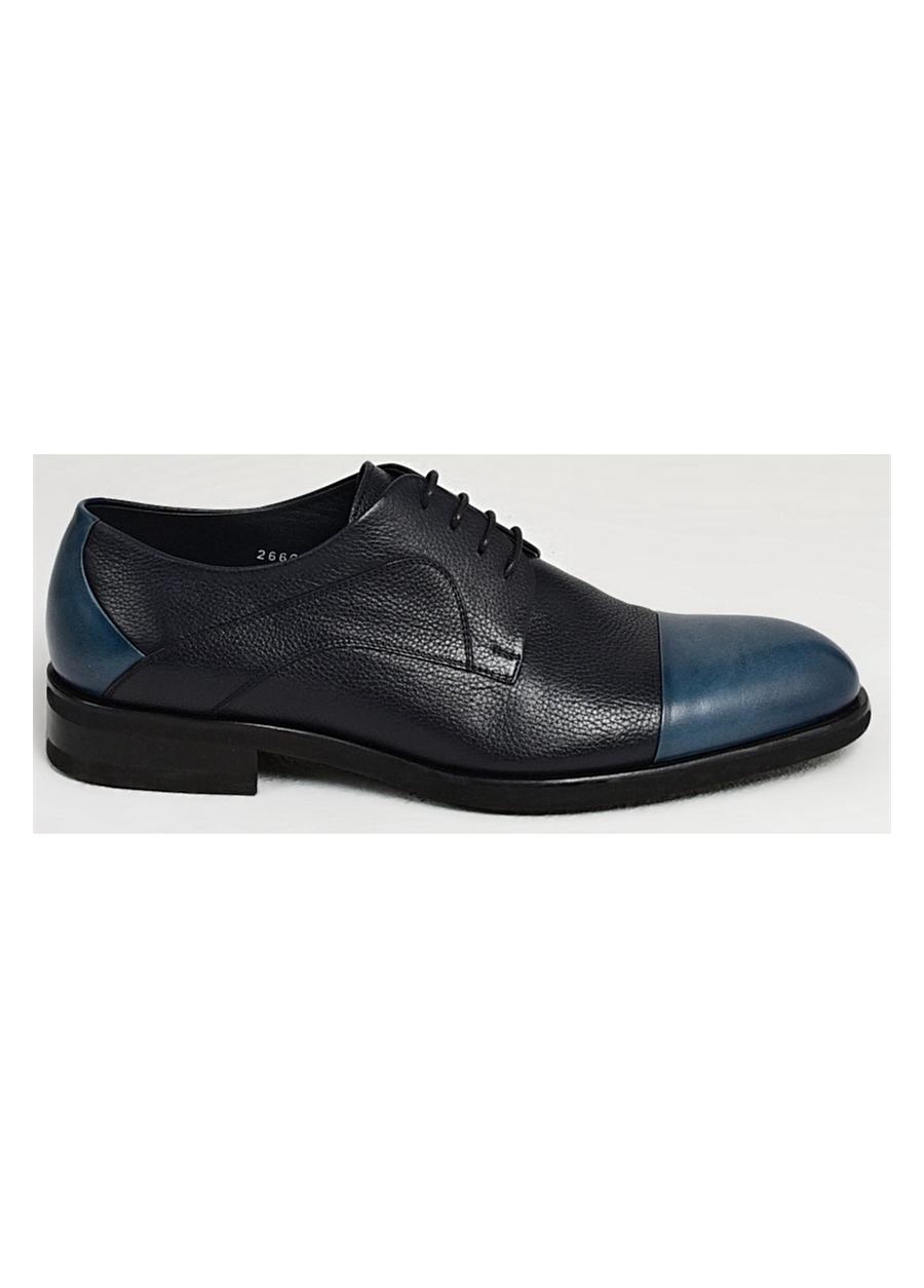 2669-1 EFOR AYK Lacivert Klasik Ayakkabı