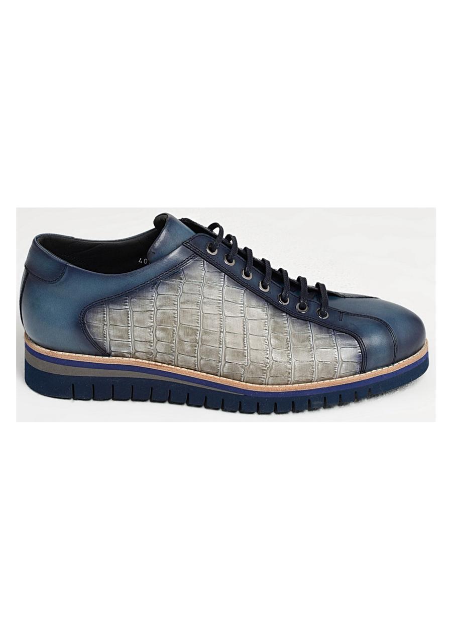 4005 . Lacivert Klasik Ayakkabı