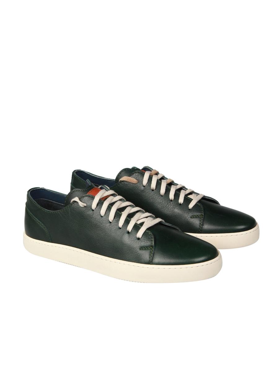 4034 Yeşil Klasik Ayakkabı