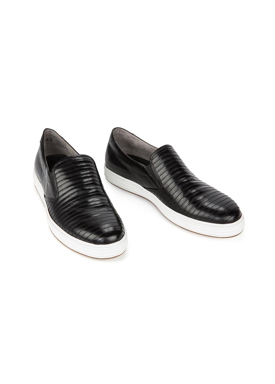 4128 Siyah Spor Ayakkabı