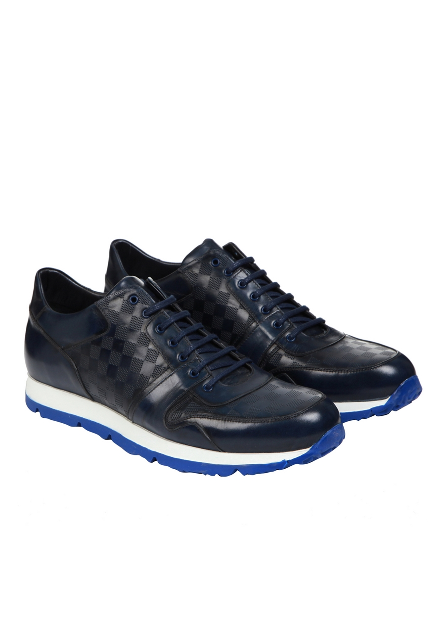 4172 . Lacivert Klasik Ayakkabı