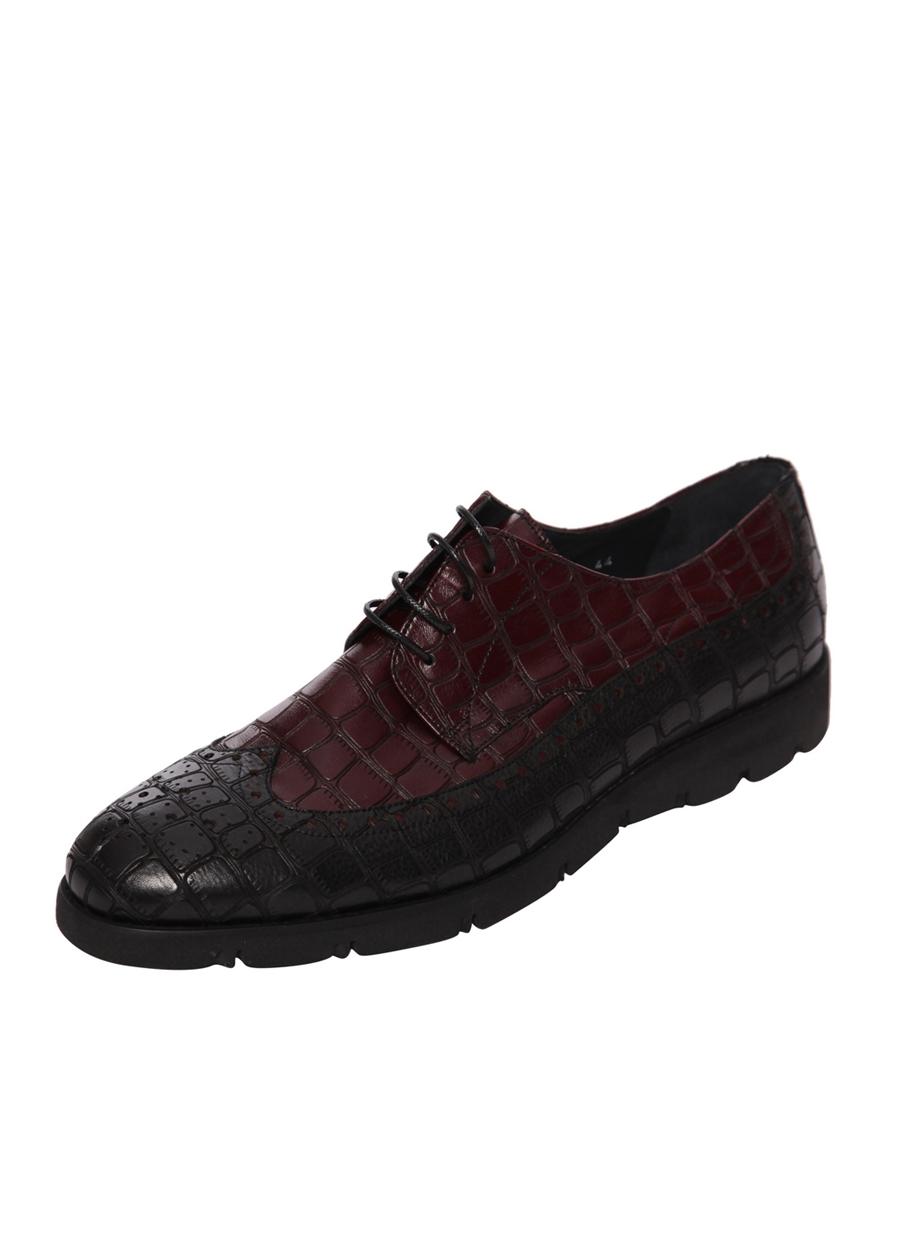 4443-1 Siyah Klasik Ayakkabı