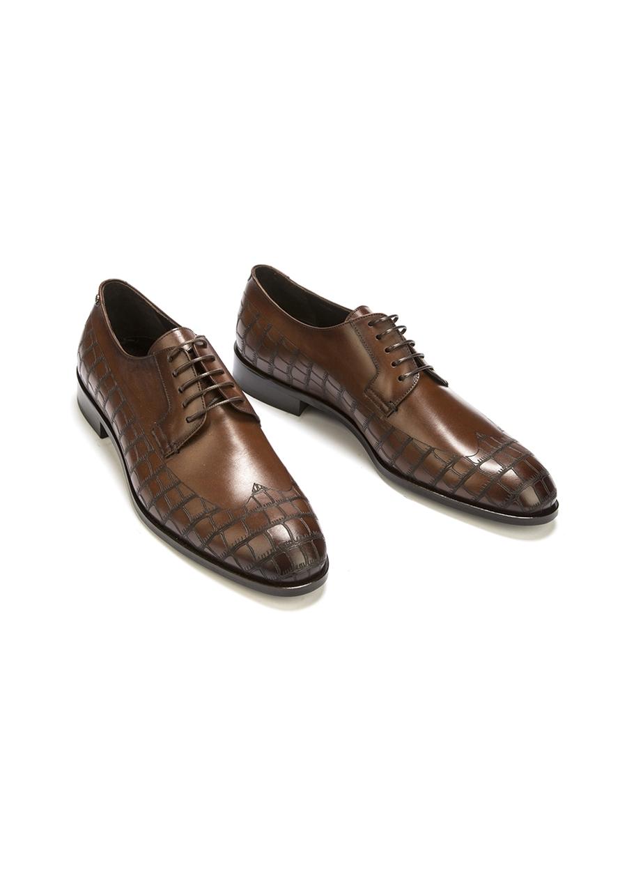 4508 Kahve Klasik Ayakkabı