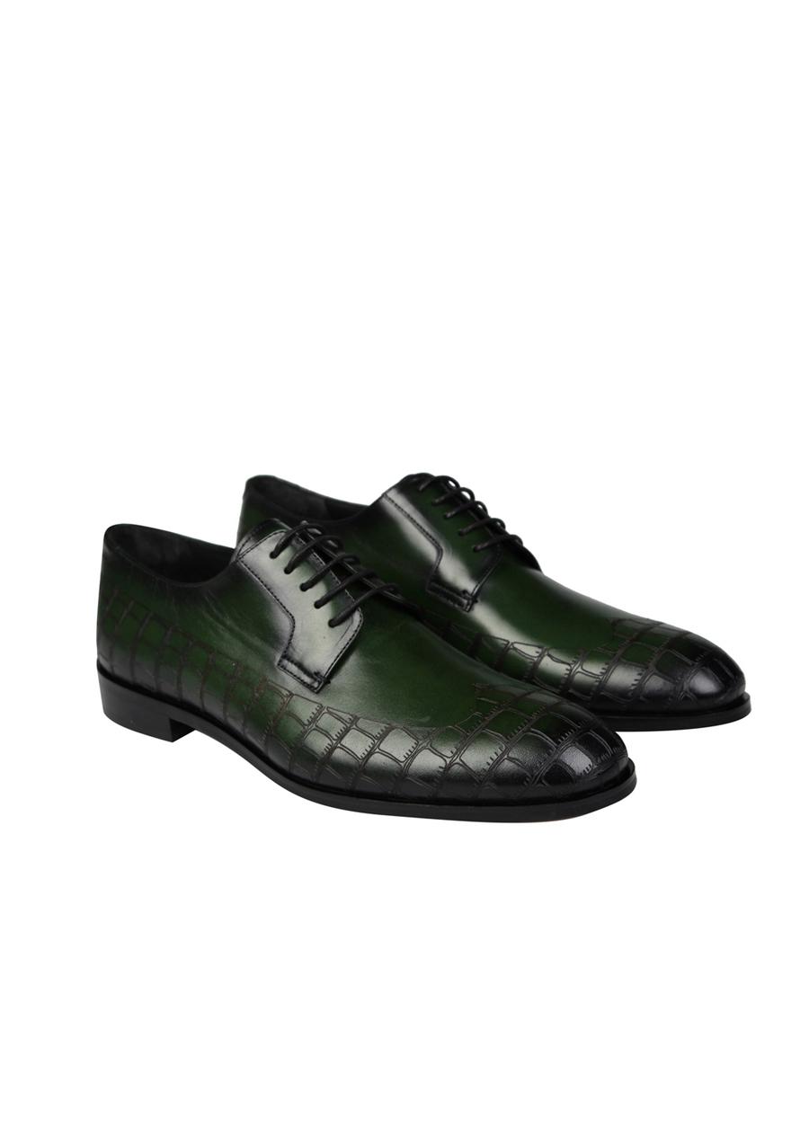 4508 Yeşil Klasik Ayakkabı