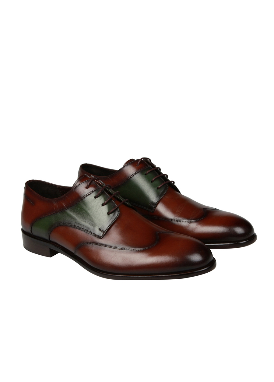4562 Kahve Klasik Ayakkabı