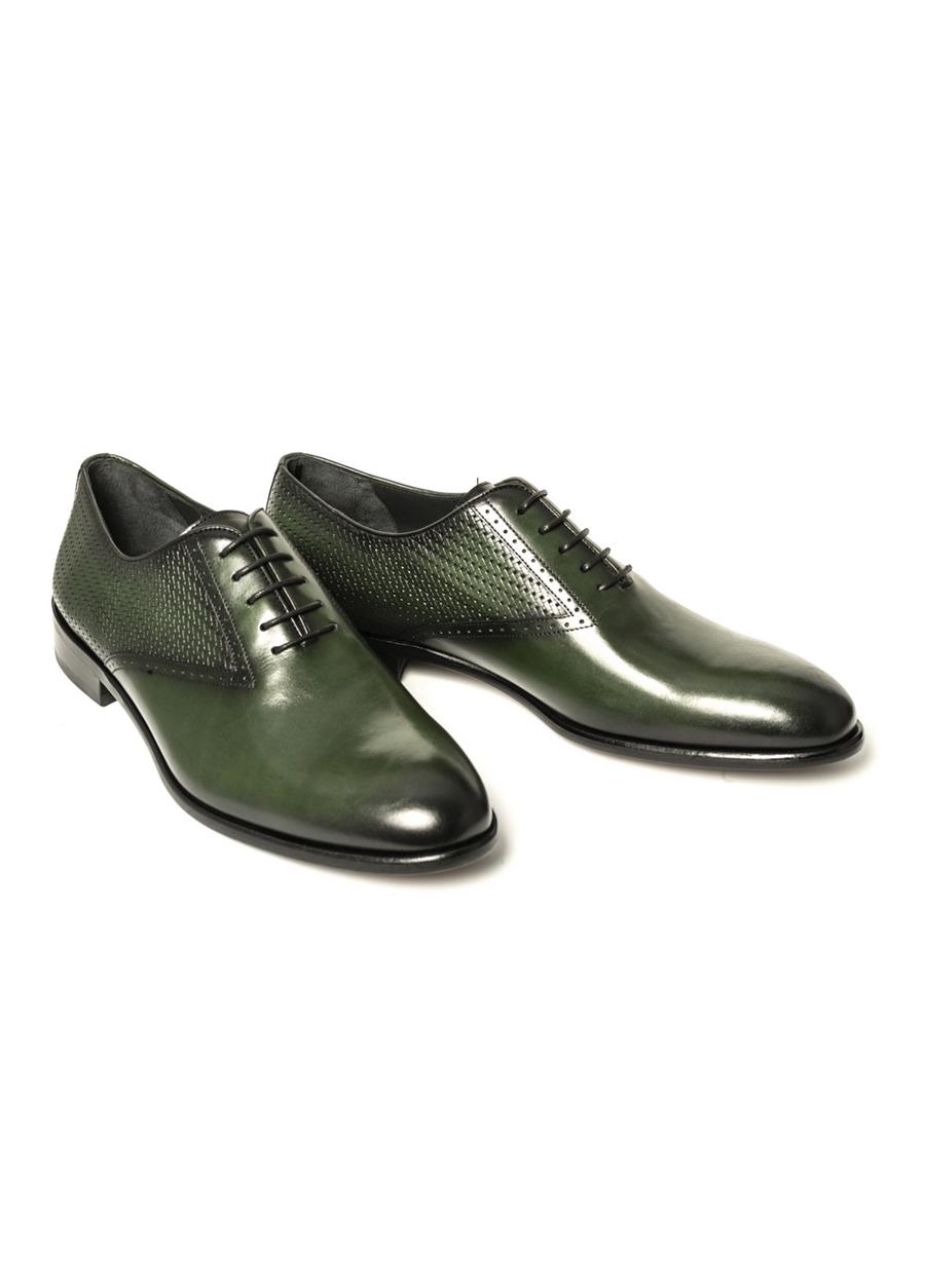 4794 Yeşil Klasik Ayakkabı