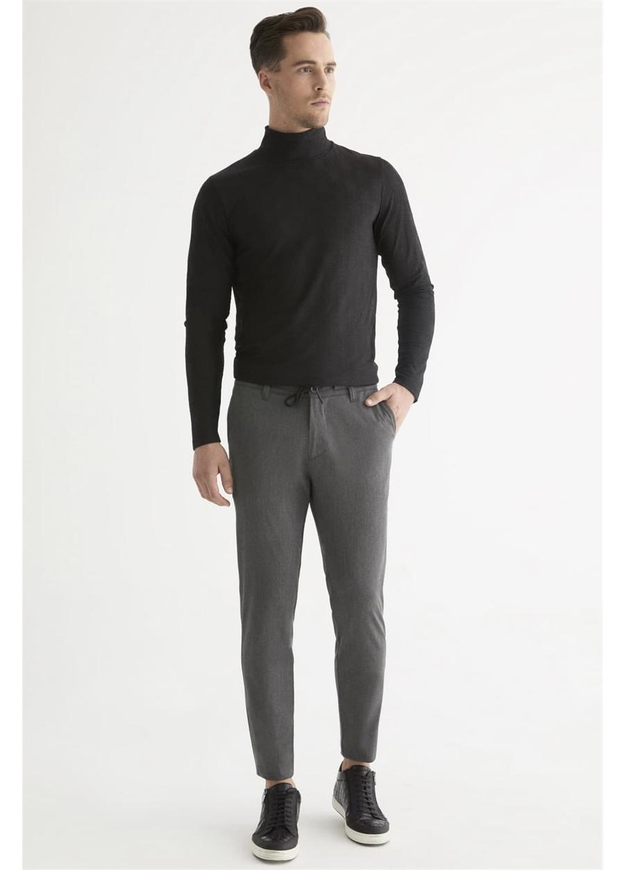 ATP 015 Rahat Kesim Gri Spor Pantolon