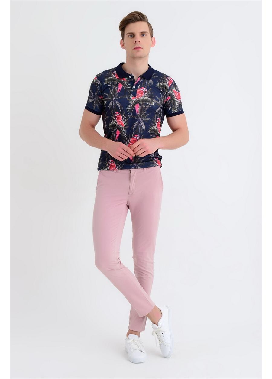 ETP 001 Slim Fit Gül Kurusu Spor Pantolon
