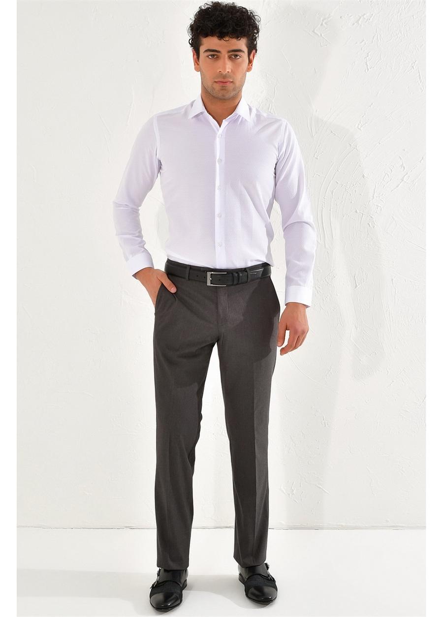 P 1067 REGULAR Regular Antrasit Klasik Pantolon