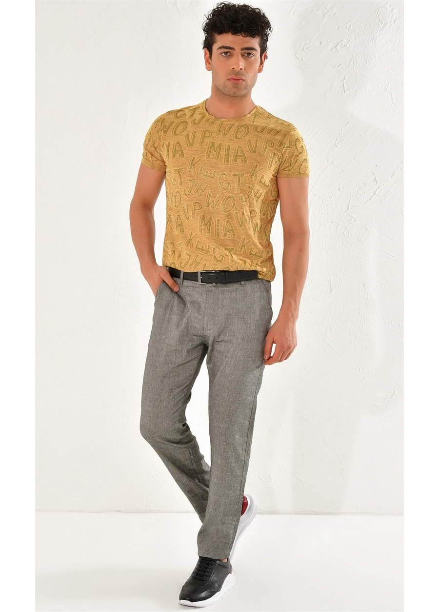 P 1069 Slim Fit Siyah Spor Pantolon