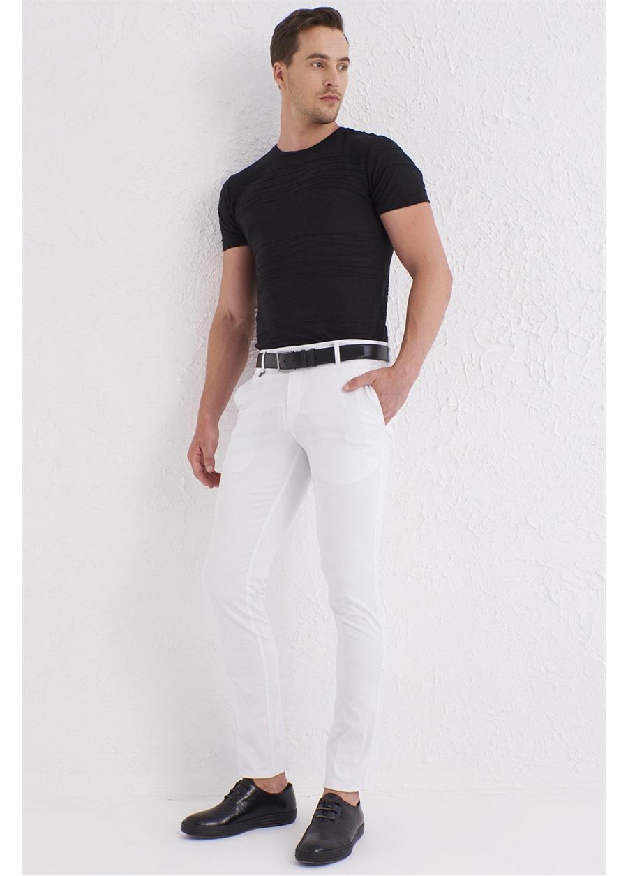 P 1073 Beyaz Spor Pantolon