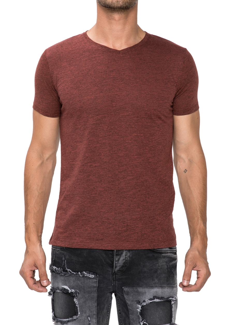 TS 679 Slim Fit Kiremit Spor T-Shirt