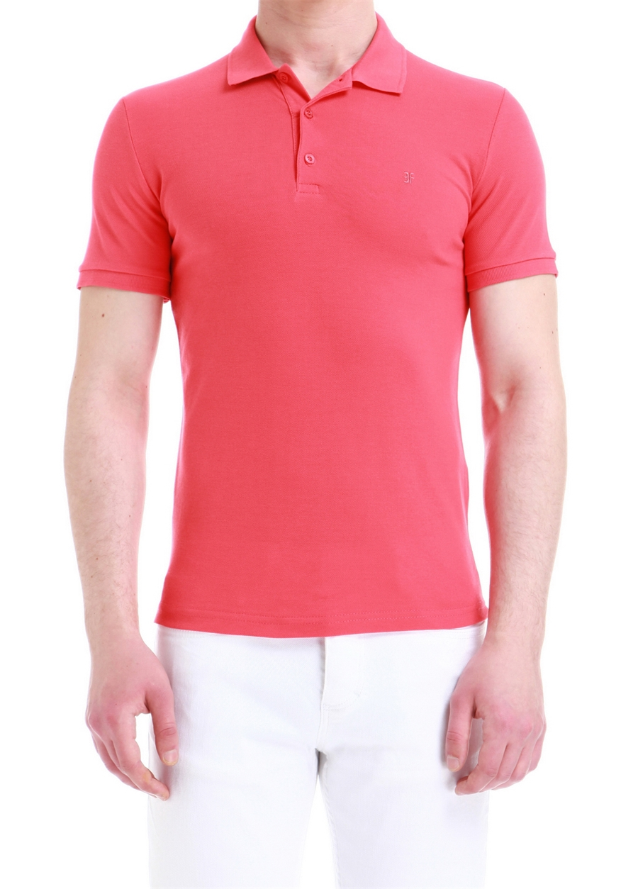 TS 771 Slim Fit Mercan Spor T-Shirt