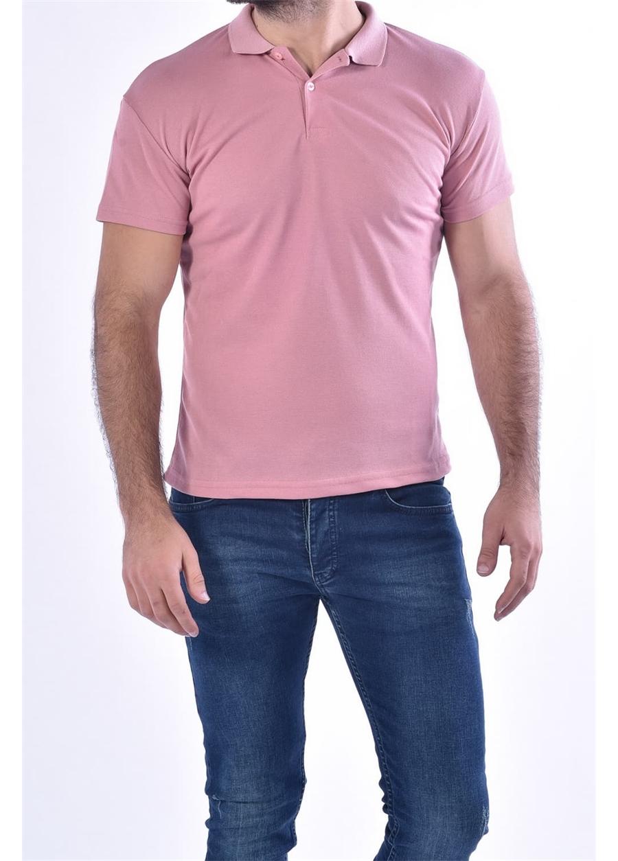 TS 813 Slim Fit Pudra Spor T-Shirt