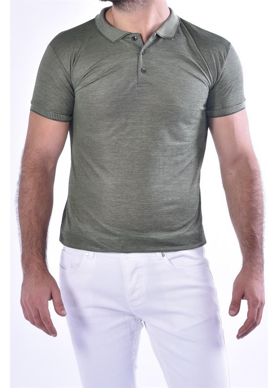 TS 814 Slim Fit Nefti Spor T-Shirt